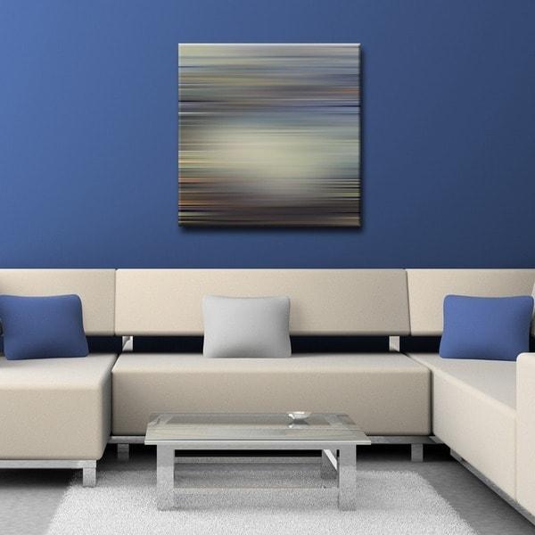 Ready2HangArt 'Blur Stripes III' Canvas Wall Art