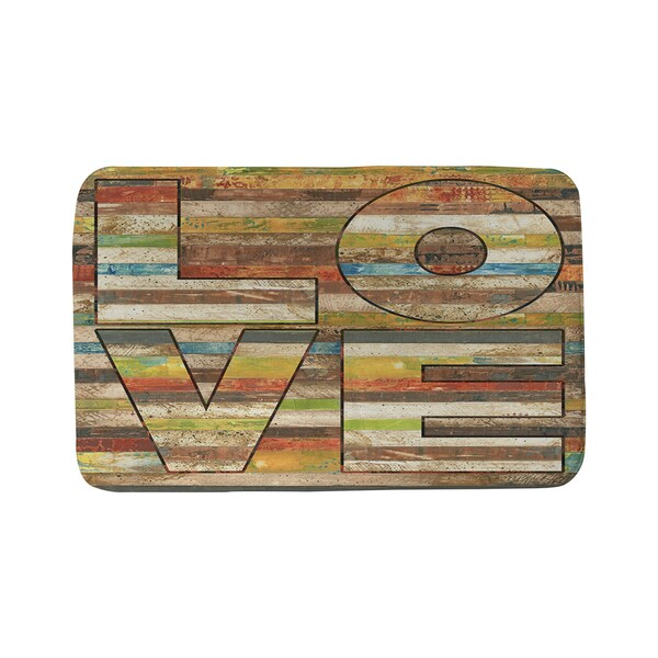 Striped Love Bath Mat 16953487