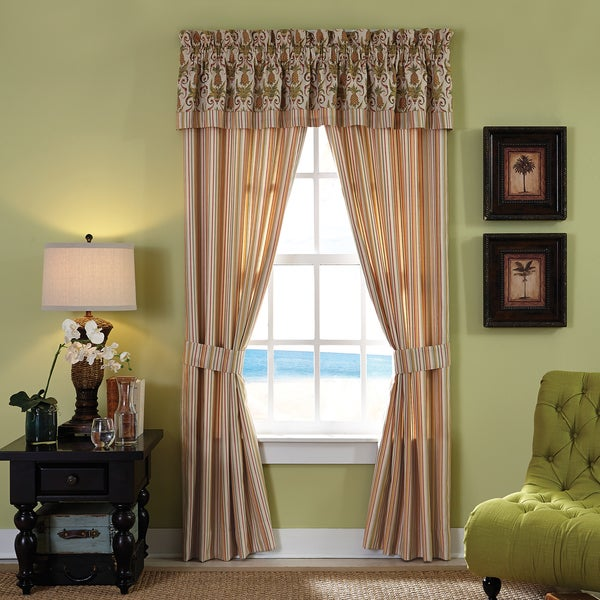 Croscill Home Pina Colada Pole Top Drapery