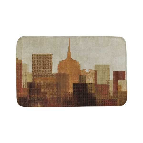 Thumbprintz Summer in the City 1 Bath Mat