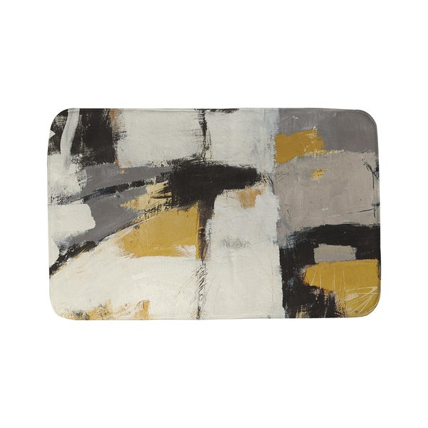 Thumbprintz Yellow Catalina 1 Bath Mat