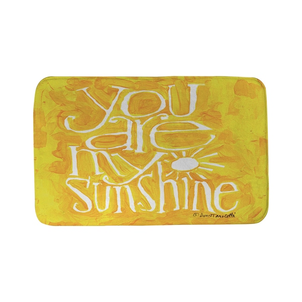 Thumbprintz You are my Sunshine Bath Mat