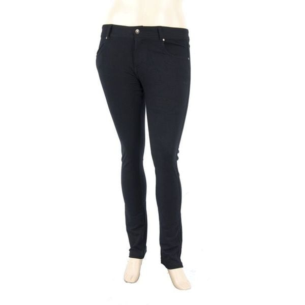 Soho Plus Size Black Ladies Stretch Pants