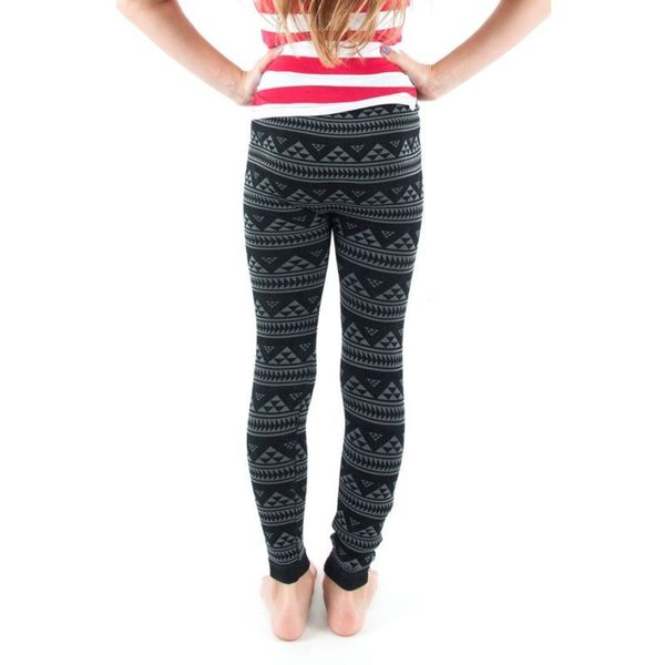 Soho Kids Pyramid Pattern Leggings