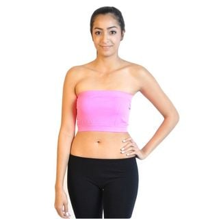 Soho 6 Colors Pink/ Neon Pink/ Mint/ Pastel Yellow/ White/ Nude Junior Bandeau Strapless Tube Top