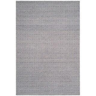 Safavieh Hand-woven Oasis Dark Grey/ Ivory Wool Rug (9' x 12')