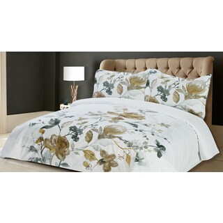 Abigail 3-piece Printed Duvet Cover Set