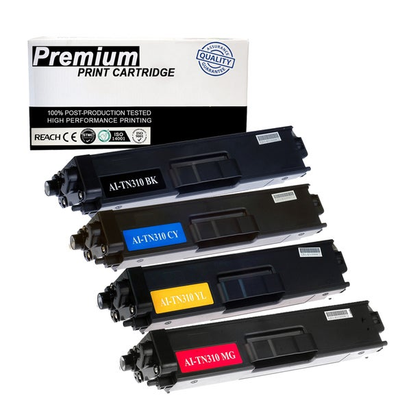 4PK Brother TN310 TN-315 KCYM Multi Color High Yield Toner Cartridge For Printers MFC-9460 9560 9970 HL-4150 4570 Series