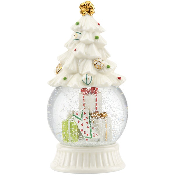 Lenox Let it Snow Tree Snowglobe