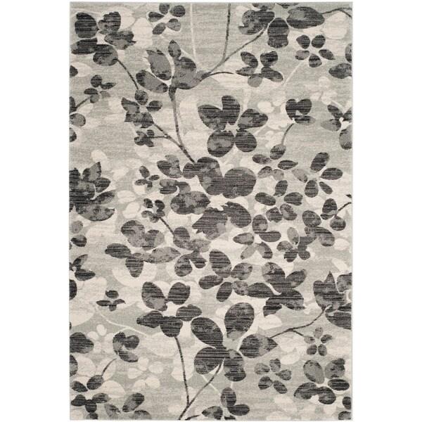 Safavieh Evoke Grey/ Black Rug (8' x 10')