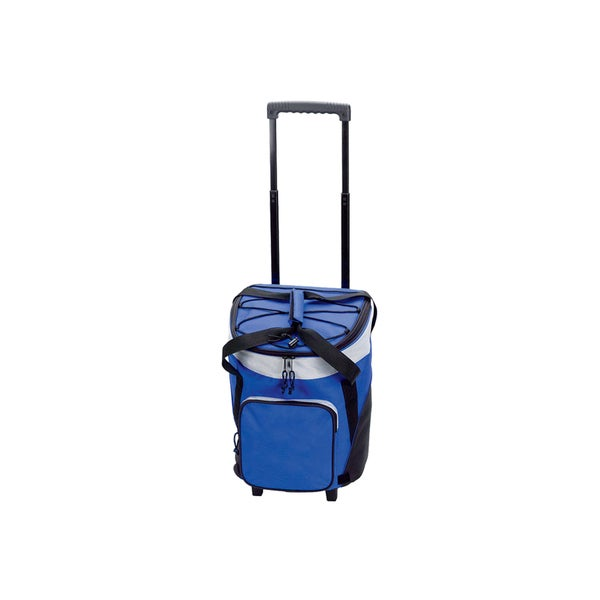 Goodhope Blue Rolling Insulated Cooler Tote Bag