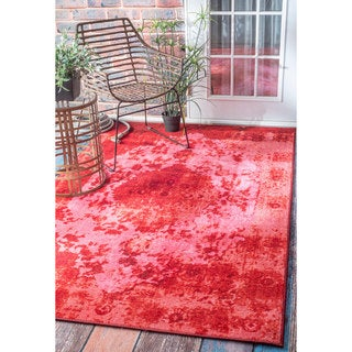 nuLOOM Traditional Vintage Inspired Talisman Overdyed Pink Rug (5' x 8')