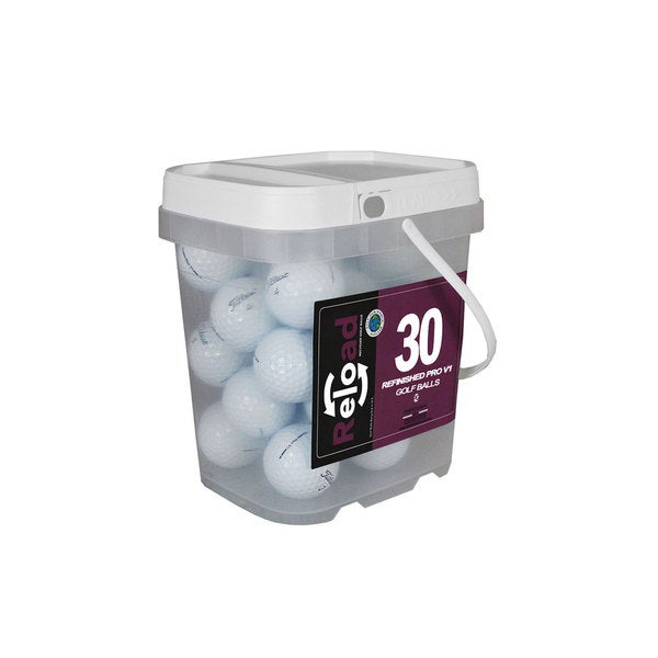 Titleist Prov1 Pack of 30 with Reusable Bucket