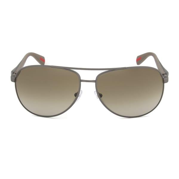 Prada Linea Rossa PS51OS 7CQ3M1 Aviator Sunglasses