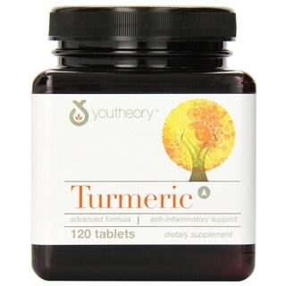 Youtheory Turmeric Advanced Formula (120 Tablets)