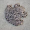 Premium Frog Stepping Stone