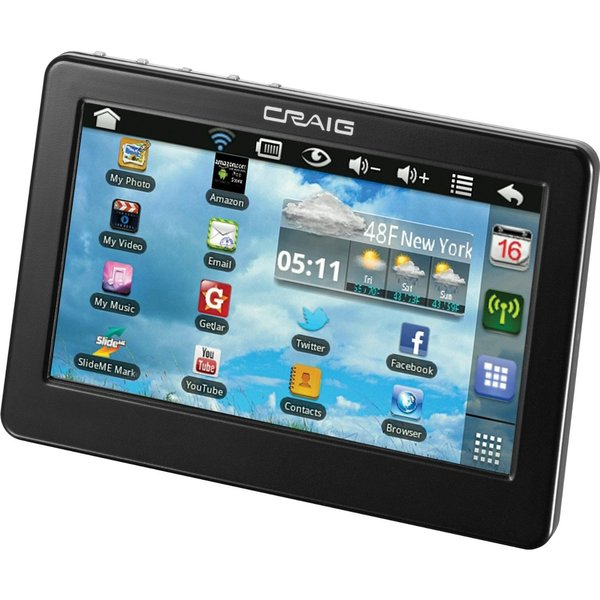 Craig Electronics Cmp738b 7-inch Touch Screen Tablet (Refurbished)