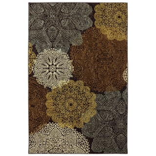 Mohawk Home Freeflow Spiro Printed Rug (8'x10')
