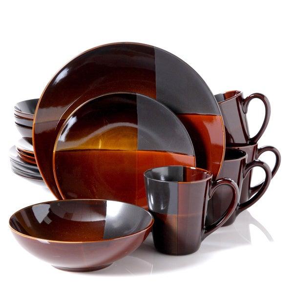 Convergence Dinnerware 16-piece Dinnerware Set