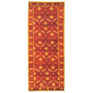 Sweet Home Brown Trellis Design Mat Doormat Rug (1'8 x 4'11)