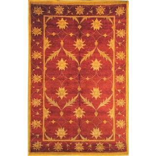 Sweet Home Brown Trellis Design Mat Doormat Rug (2'3 x 6')