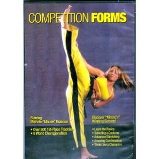 Karate Tournament Competition Forms Kata DVD Michele Mouse Krasnoo kicks