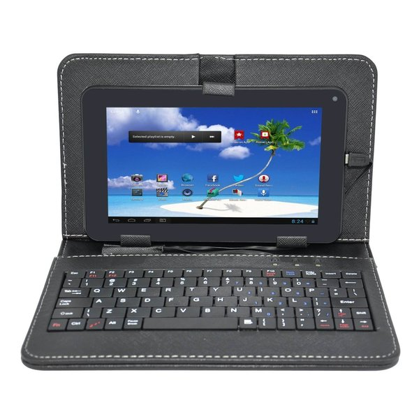 Proscan Plt7223g-k8g 7-inch Tablet 8gb Android 4.1 with Keyboard Case (Refurbished)