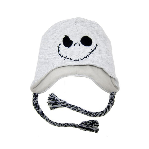 Nightmare Before Christmas Shoelace Knit Cap