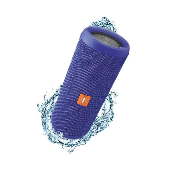 JBL Flip 3 Blue Splashproof Portable Bluetooth Speaker