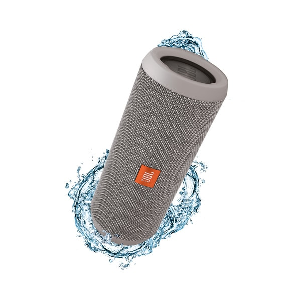 JBL Flip 3 Grey Splashproof Portable Bluetooth Speaker