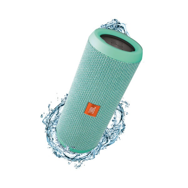 JBL Flip 3 Teal Splashproof Portable Bluetooth Speaker