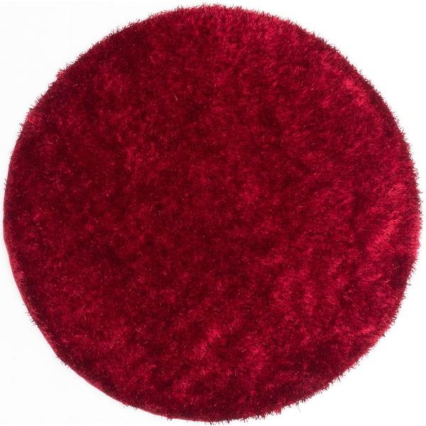 ecarpetgallery Neon Red Shag (6'5 x 6'5)