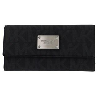 MICHAEL Michael Kors Jet Set Signature Checkbook Wallet
