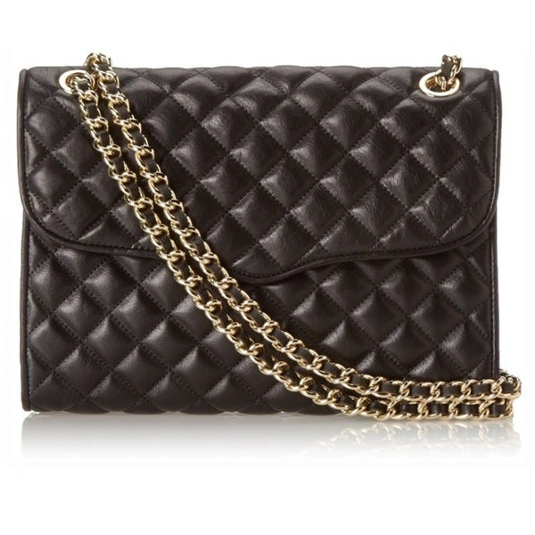 Rebecca Minkoff Quilted Affair Crossbody - Black