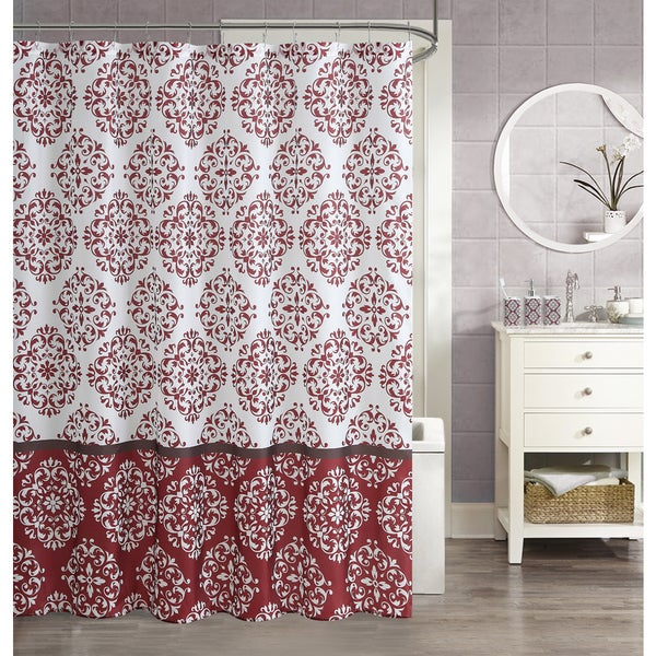 VCNY Asher 16 Piece Shower Curtain Set