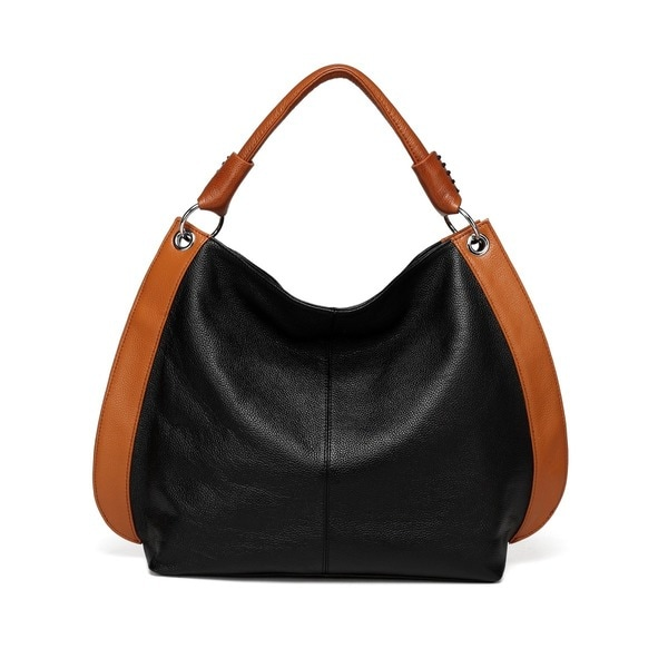 Camelia Tote Leather Handbag