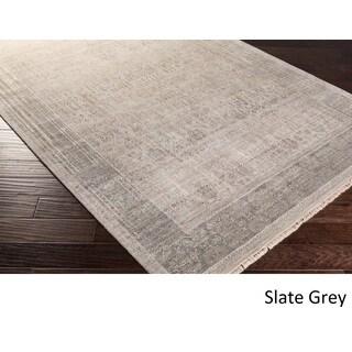 Hand-Knotted Frieda Wool/Silk Rug (9' x 12')