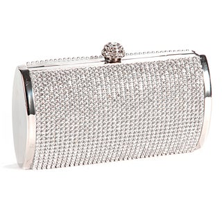 Women's Crystal Evening Clutch Handbag