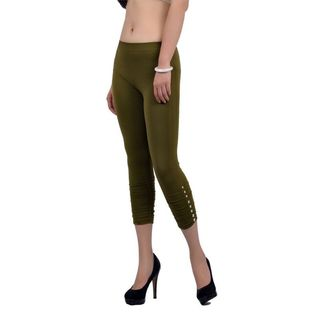 Soho Junior Gem Studded Capri Leggings