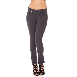 Soho Charcoal Junior Moleton Skinny French Terry Pants