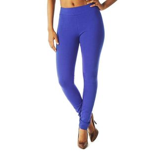 Soho Sapphire Blue Junior French Terry Skinny Jegging Pants