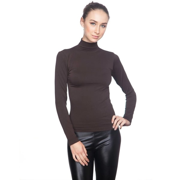 Soho Junior Long Sleeve Turtle Neck Top