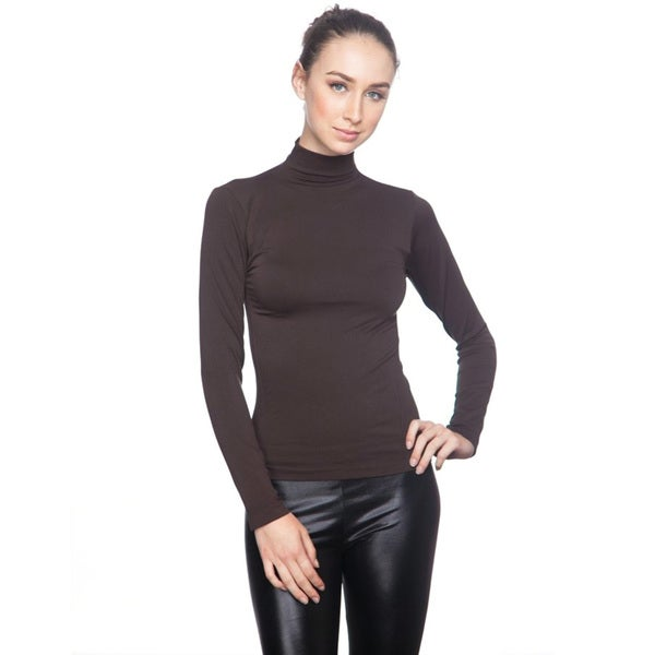 Soho Junior Long Sleeve Turtle Neck Top 16965542
