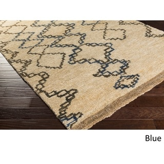 Beth Lacefield : Hand-Knotted Dusky Jute Rug (9' x 13')