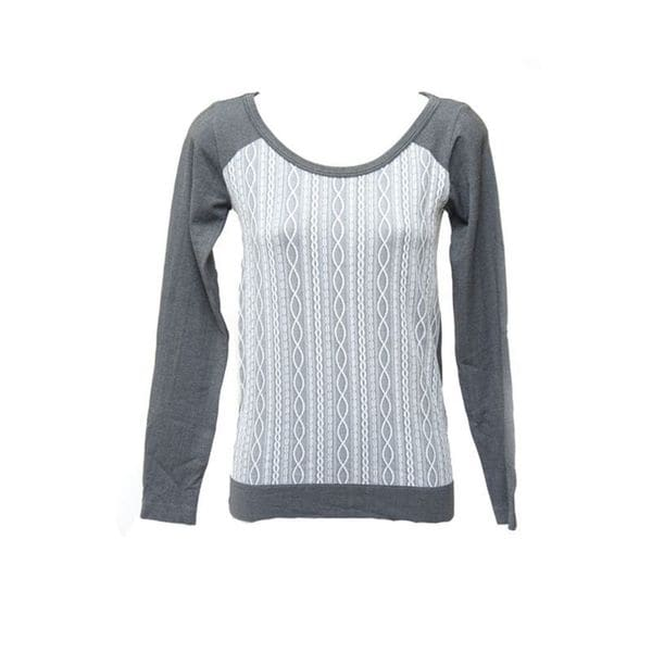 Soho Junior Texture Long Sleeve Top 16965905