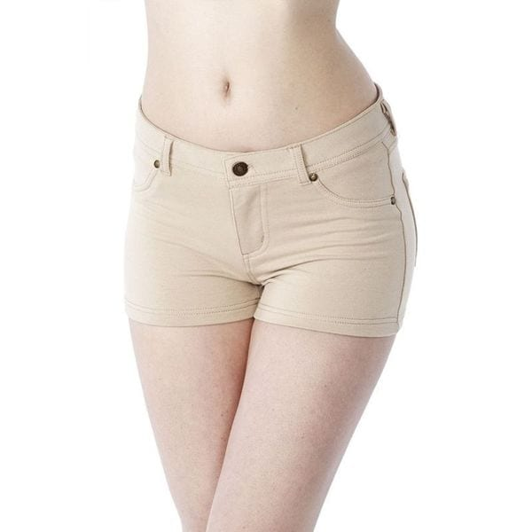 Soho Junior Khaki Comfortable French Terry Shorts