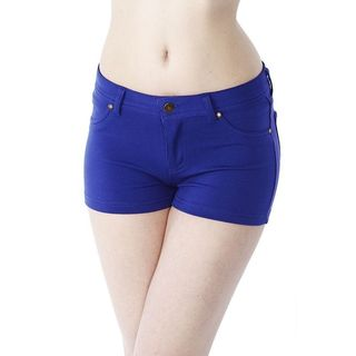 Soho Junior Sapphire Blue Comfortable French Terry Shorts