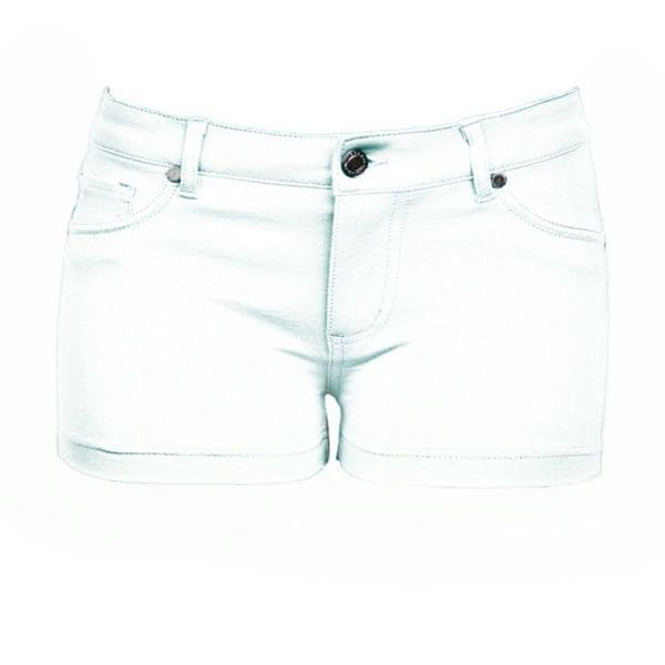 Soho Junior White Comfortable French Terry Shorts