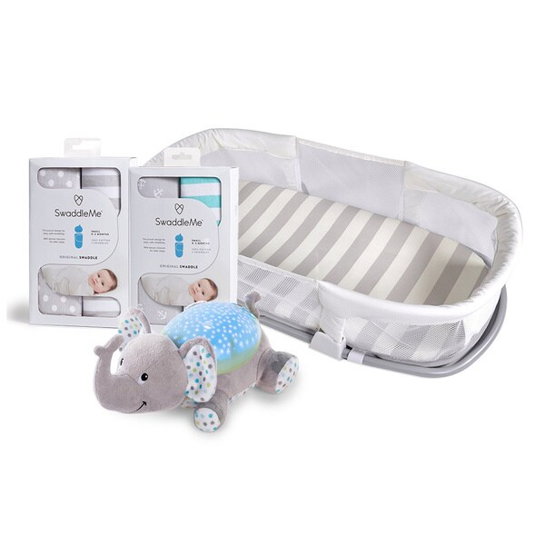 Summer Infant SwaddleMe Side By Side Baby Sleeper and Sleep Aids