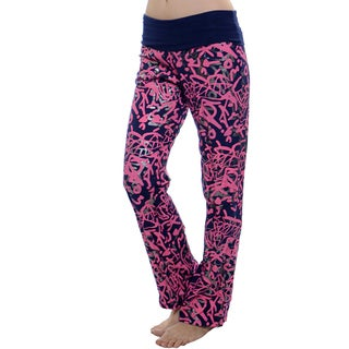 Women's Printed Flared Yoga Pants